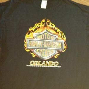 Harley Davidson Orlando Florida T-shirt